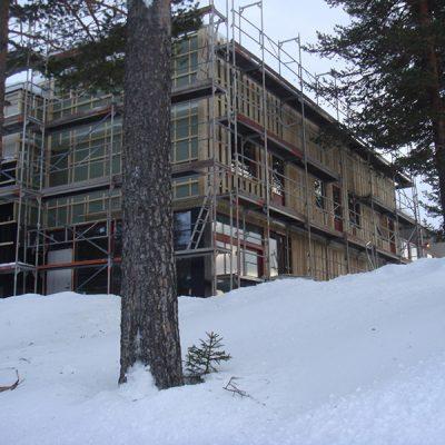 Her bygger vi om konferanseavdelingen til leiligheter