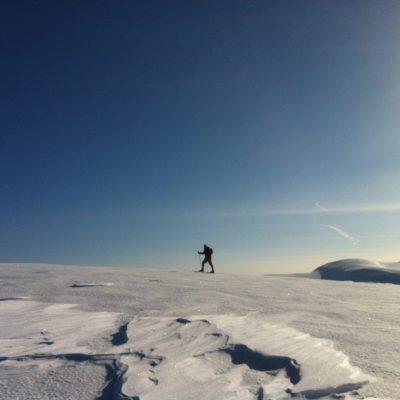 På vei mot Nordpolen...